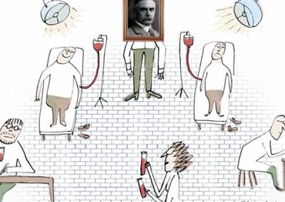 Karl Landsteiner et les groupes sanguins