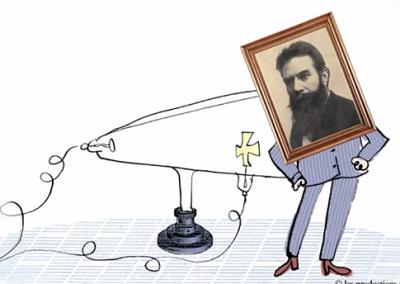 Wilhelm Röntgen et les rayons X