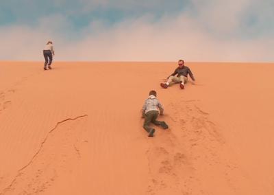Les français du désert de Namibie