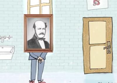 Ignace Semmelweis et le lavage des mains