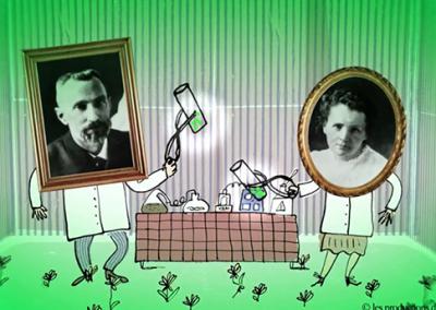 La radiothérapie de Pierre et Marie Curie