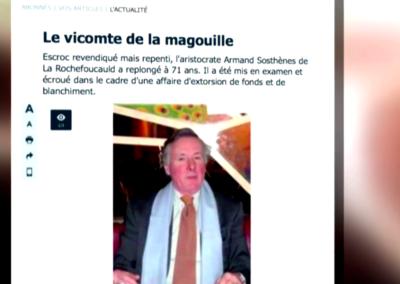 M6 – Le vicomte, prince de l'arnaque.